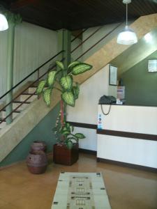 O saguão ou recepção de Hotel BuonGiorno