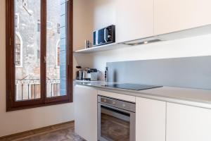 Cucina o angolo cottura di Palazzo Vendramin Costa