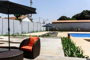 The swimming pool at or near Ceiba Hotel Bissau