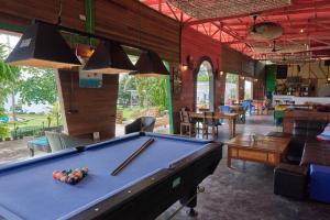 Billardbord på Elephant Bay Resort