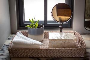 Salle de bains dans l'établissement The Desert Grace