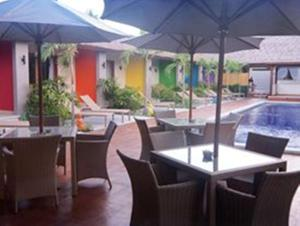 A restaurant or other place to eat at BaliNea Villa & Spa