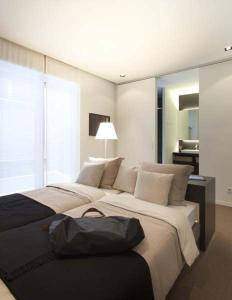 A bed or beds in a room at Residence Wyck