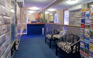 The lobby or reception area at Soho Brisbane