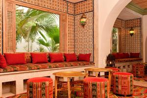 De lounge of bar bij Sentido Djerba Beach