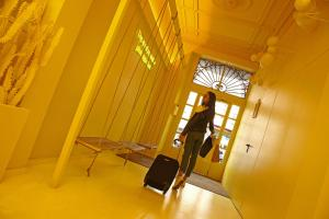 The fitness center and/or fitness facilities at Chic & Basic Lemon Boutique Hotel