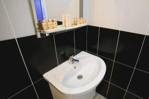 Ванная комната в Отель Пантера