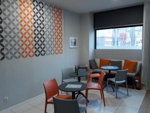 Restauracja lub miejsce do jedzenia w obiekcie Hostel Sopot Centrum