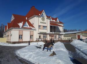 Koleso Hotel зимой