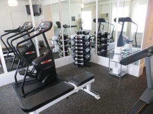 Gimnasio o instalaciones de fitness de Maison 140 Beverly Hills