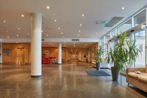 The lobby or reception area at Future Inn Plymouth