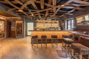 Lounge oder Bar in der Unterkunft Mesnerhaus Mühlbach