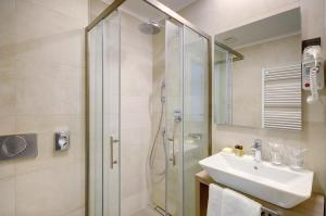 A bathroom at Residence Rovinj