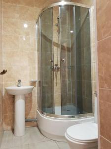 """Ванна кімната в Мини отель """"На Индустриальном"""""""