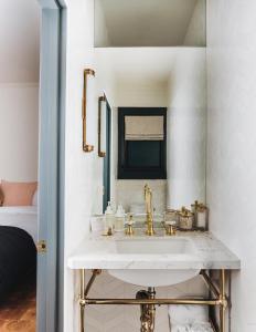 Salle de bains dans l'établissement Gold-Diggers