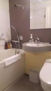 A bathroom at Viale Osaka