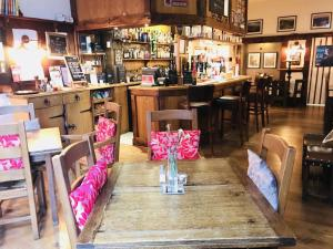 A restaurant or other place to eat at Great Malvern Hotel