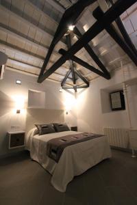 Cama o camas de una habitación en Apartamentos Casa Resekas