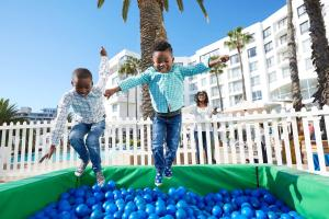 Children staying at President Hotel