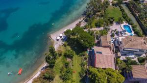 Άποψη από ψηλά του Palmyra Beachfront Studios