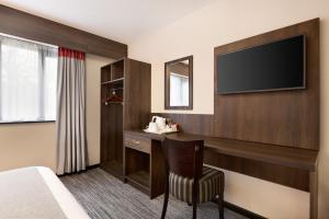 A television and/or entertainment center at Ramada Bristol West