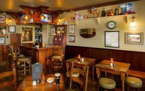 A restaurant or other place to eat at The Wild Atlantic Lodge