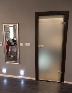 A bathroom at Apartament Onyx