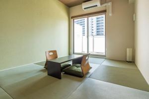 FDS 天王寺ホテルにあるシーティングエリア
