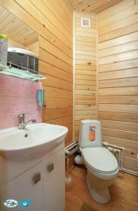 Ванная комната в Турбаза Лаго-Наки