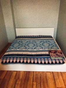 Кровать или кровати в номере Апартаменты G-Kvartal на Тушинской