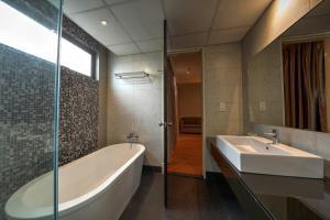 A bathroom at Acappella Suite Hotel, Shah Alam