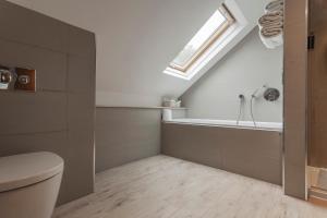 A bathroom at Orsett Hall