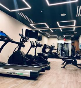 The fitness center and/or fitness facilities at Wyndham Garden Ft Lauderdale Airport & Cruise Port