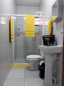 Um banheiro em Casa Wilson