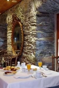 A restaurant or other place to eat at La Casona de Pío
