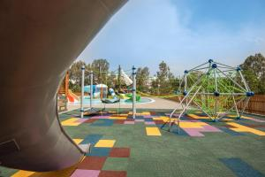 Children's play area at Caravia Beach Hotel