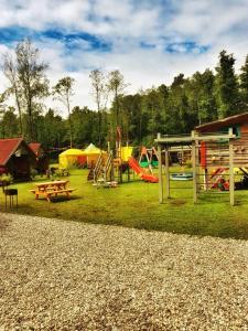 Children's play area at Milleri