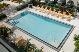 A view of the pool at Aloft Miami Airport or nearby