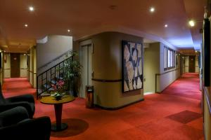 The lobby or reception area at Belere Hotel Rabat