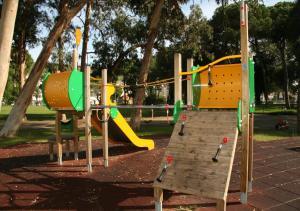 Children's play area at INATEL Caparica