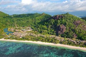 A bird's-eye view of Kempinski Seychelles Resort