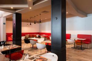 Un restaurant u otro lugar para comer en Good Morning Gelsenkirchen City