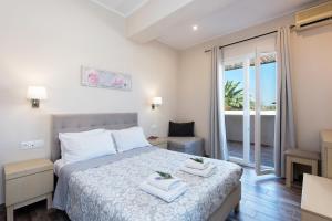 Кровать или кровати в номере Anita