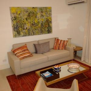 A seating area at Ocean Flat