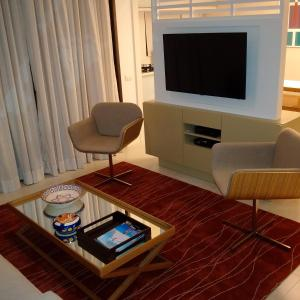 A television and/or entertainment centre at Ocean Flat