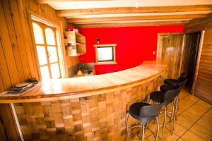 The lobby or reception area at Kalfu Patagonia