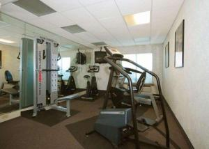 The fitness center and/or fitness facilities at Quality Inn & Suites Bensalem