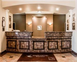 The lobby or reception area at Sleep Inn and Suites Shamrock