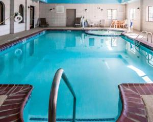 The swimming pool at or near Sleep Inn and Suites Shamrock