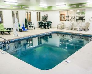 The swimming pool at or near Sleep Inn & Suites Stony Creek